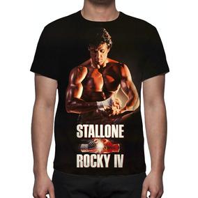 Camisa, Camiseta Filme Rocky 4 (stallone) - Estampa Total