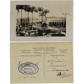 Pe 1910 Cartão Postal Foto Praça Da República Em Recife