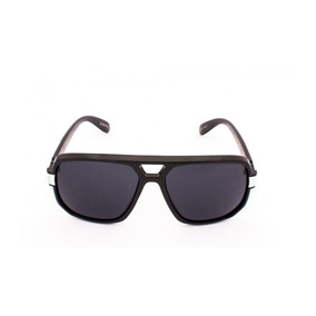 f7274c2f6f988 Óculos De Sol Drop Me Las Quadrado Mascara Preto Brilho -