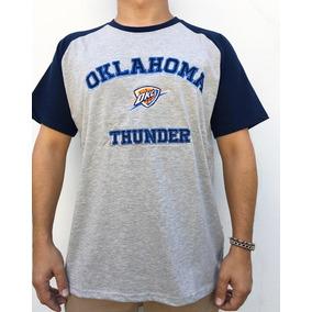 8d63d5ddf Camiseta Okc Thunder Laranja - Camisetas e Blusas no Mercado Livre ...