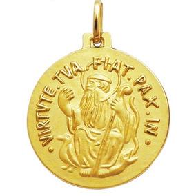 80d2deb8b7adb Pingente Em Ouro 18 Kilates Medalha São Bento Media - Pingentes no ...