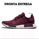 Adidas Nmd Runner Vinho no Mercado Livre Brasil 22a65496e2e3b