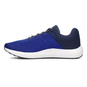 Tenis Ua Micro G Pursuit Azul Original 3000011401