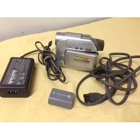 Camara Dsr Hc21 Sony Con Pila Y Cargador Para Repuesto