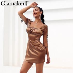 840873900 Vestido De Manga Corta De Vestidos Casuales Cortos Mujer - Vestidos ...