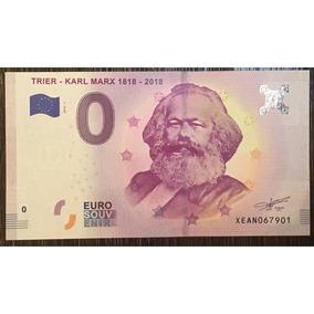 Cédula 0 Zero Euro - Karl Marx