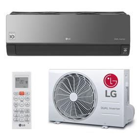 Ar Condicionado Split Dual Inverter Lg Art Cool 18000 Btus Q