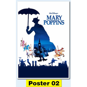 Poster Cartaz Mary Poppins (1964 30x40 #002