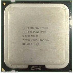 Processador Intel 775 Pentium Dual Core E6500 2.93/2mb/1066