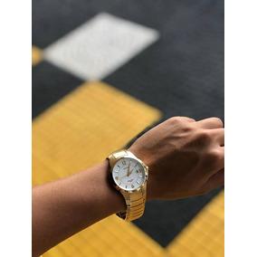 1b554cfdab1 Relogio Orient Water Resist 50m Dourado - Relógios no Mercado Livre ...