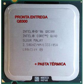 Intel 775 Core 2 Quad Q8300 4m 2.50 Ghz, 1333 Mhz + Pasta