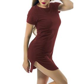 Vestidos Beisboleros Largos Unicolor - Vestidos de Mujer en Mercado ... f21f7b6fc518