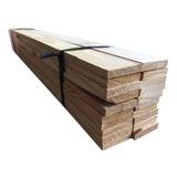 Fardo 40 Ripas Madeira De 2 X 1,2 X 100cm - Escada Segurança