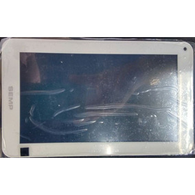 Tela Touch+display Tablet Sti 0760w 7 Original - Preto/branc