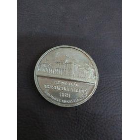 Castelo Antiguidade Medalha Exposição Brasileira Alemã 1881