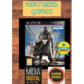 Jogo Destiny Ps3 Portugues Midia Digital + Brinde Exclusivo