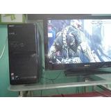 Pc Acer Aspire Con 4gb Ram, Amd Athlon 2 X2, 250gbytes