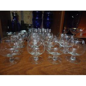 Ofertas Reales Doce Copas Cognac En Cristal San Carlos B30