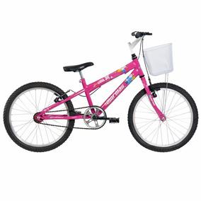 Bicicleta Aro 20 Mountain Bike Sweet Girl C  Cesta d91d2bfb4d
