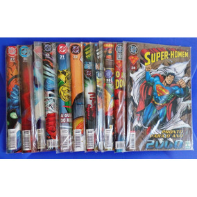 Gibis Dc - Super-homem Revistas 1998, 99, 2000 - 24 Números