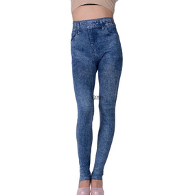 Legging Skinny Tipo Jeans Dama Envio Gratis