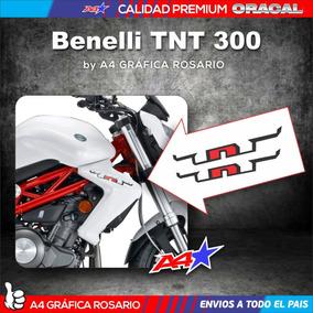 Benelli Tnt 300 X2 Calcos Deflectores Tanque Medida Original
