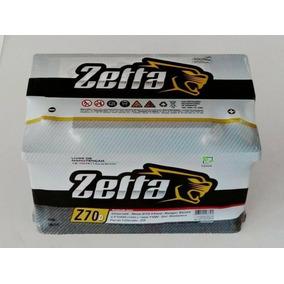 Bateria Zetta 70 Amperes - Menor Preço Da Região