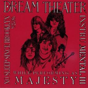 Dream Theater - No Sleep Since Brooklyn 25/09/1986 - Cd Raro
