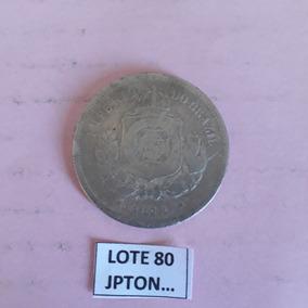 Linda Moeda De 100 Réis Ano 1878 (lote Nº 80)