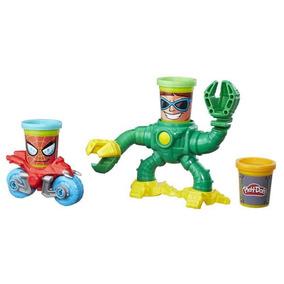 Spider-man Vs Doc. Ock Play-doh Marvel - Hasbro B9364