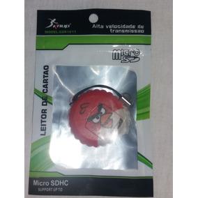 Leitor De Cartão De Memória Mascote Angry Birds Red Vermelho