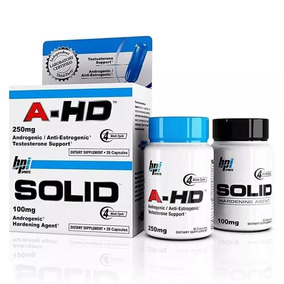 A-hd Androgenic + Solid Testo Support Bpi Sports