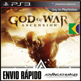God Of War Ascension Dublado - Jogos Ps3 Midia Digital