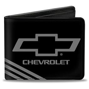 Hebilla De La Pu-down Plegable Monedero - Chevrolet Bowtie 3