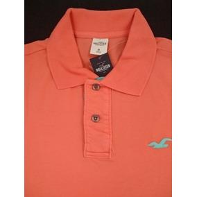 b7b35645e Camisa Polo Hollister Original Usa Tamanho M
