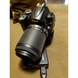 Camara Nikon Dos Lentes D5000 Lente 18-55 Y 55-200mm $6500