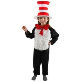 Disfraz De El Gato Con Sombrero Para Adulto. Au1. Sdm en Mercado ... 4407a33235f