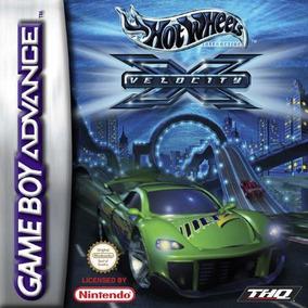 Hotwheels Velocity X Gameboy Advance Mídia Física Lacr
