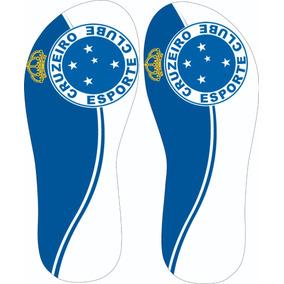 Chinelo Oficial Cruzeiro Tipo Havaianas Sapatos - Sapatos no Mercado ... 1d7ee70a710c4