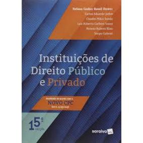 Instituições De Direito Público E Privado - 15ª Edição