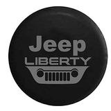 Jeep Liberty Grill Kj Crossover Tire Cover De Repuesto Oem V