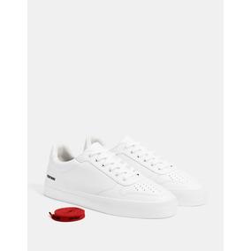 Tenis Monocolor Blancos 9 Mex