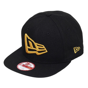 Boné New Era Aba Reta Snapback Brand Flag Of Gold Preto 96d92600a6034
