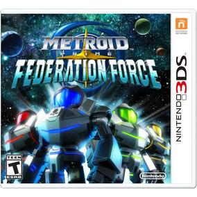 Videojuego Metroid Prime Federation Force Nintendo 3ds Gamer