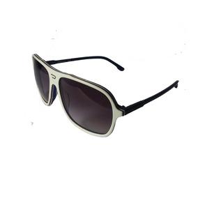 7d570c2246082 Oculos Oval Branco De Sol Diesel - Óculos no Mercado Livre Brasil