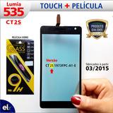 Tela Touch Lumia 535 Rm1092 100% Ok + Pelicula Vidro