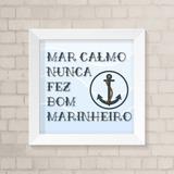 Caneca Mar Calmo Nunca Fez Bom Marinheiro No Mercado Livre Brasil