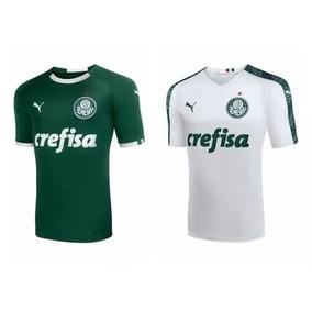 Kit 02 Camisa Oficial Palmeiras 18/19 - Home - Away (prazo)