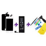 Tela Touch Lcd Iphone 5g + Bateria + Película + Kit Chaves