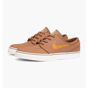 Tênis Nike Stefan Janoski Leather 616490-271 Camel (couro)
